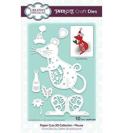 Stanzschablone von creative Expressions,The Paper Cuts 3D Collection Artikelnr.:Kh48319 CEDPC105